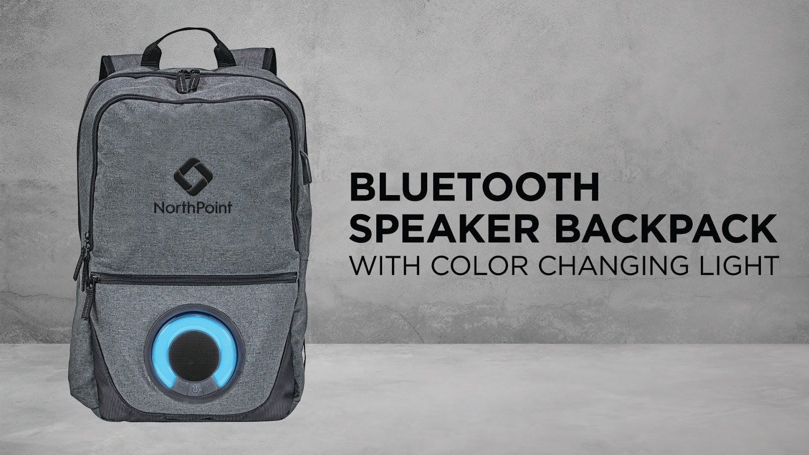 Blare Bluetooth Speaker Computer Backpack