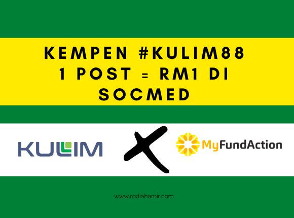 Kempen #kulim88 RM1 = Satu Post