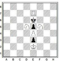 La señal de la Santa Cruz sobre el tablero de ajedrez