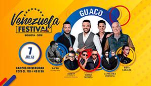 VENEZUELA FESTIVAL 2018 Bogotá