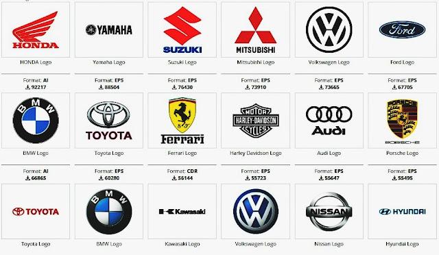 Download logo Brand Otomotif