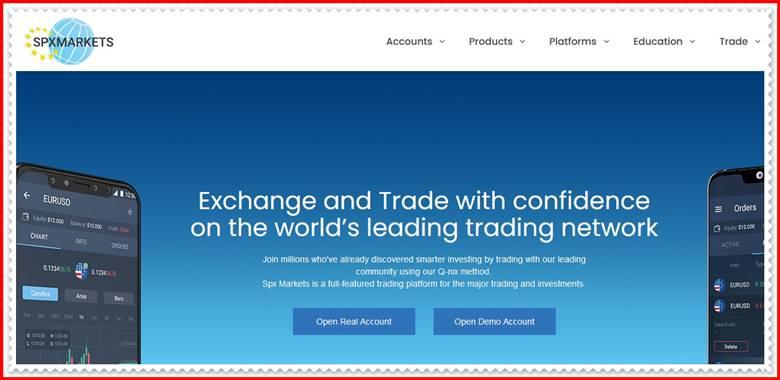 [ЛОХОТРОН] spxmarkets.com – Отзывы, развод? Компания SPX Markets мошенники!