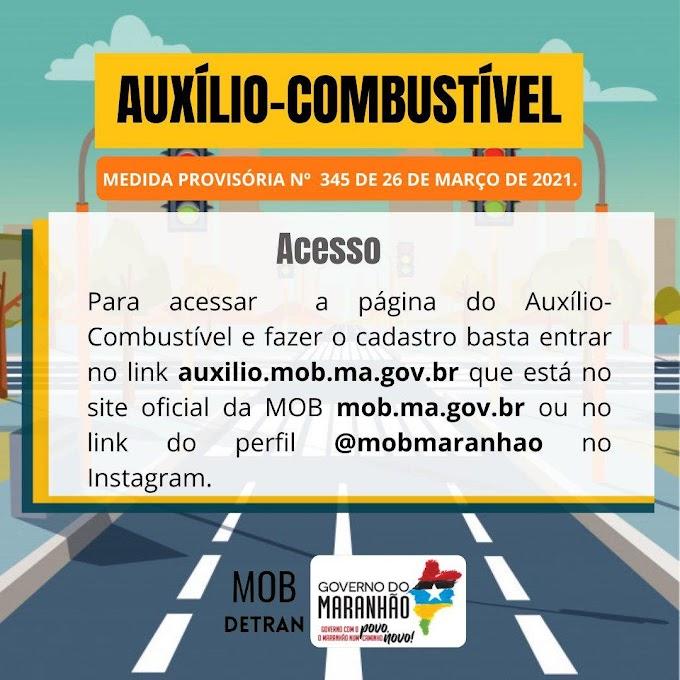 Governo do Maranhão inicia cadastro para conceder auxilio combustível a taxistas, mototaxistas e motoristas de aplicativos