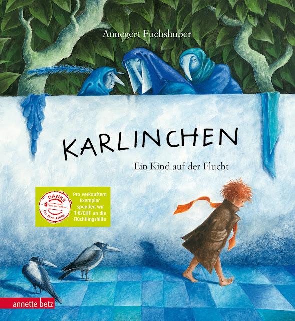 Karlinchen, Flüchtlinge, Kinder auf der Flucht, Kinderbuch