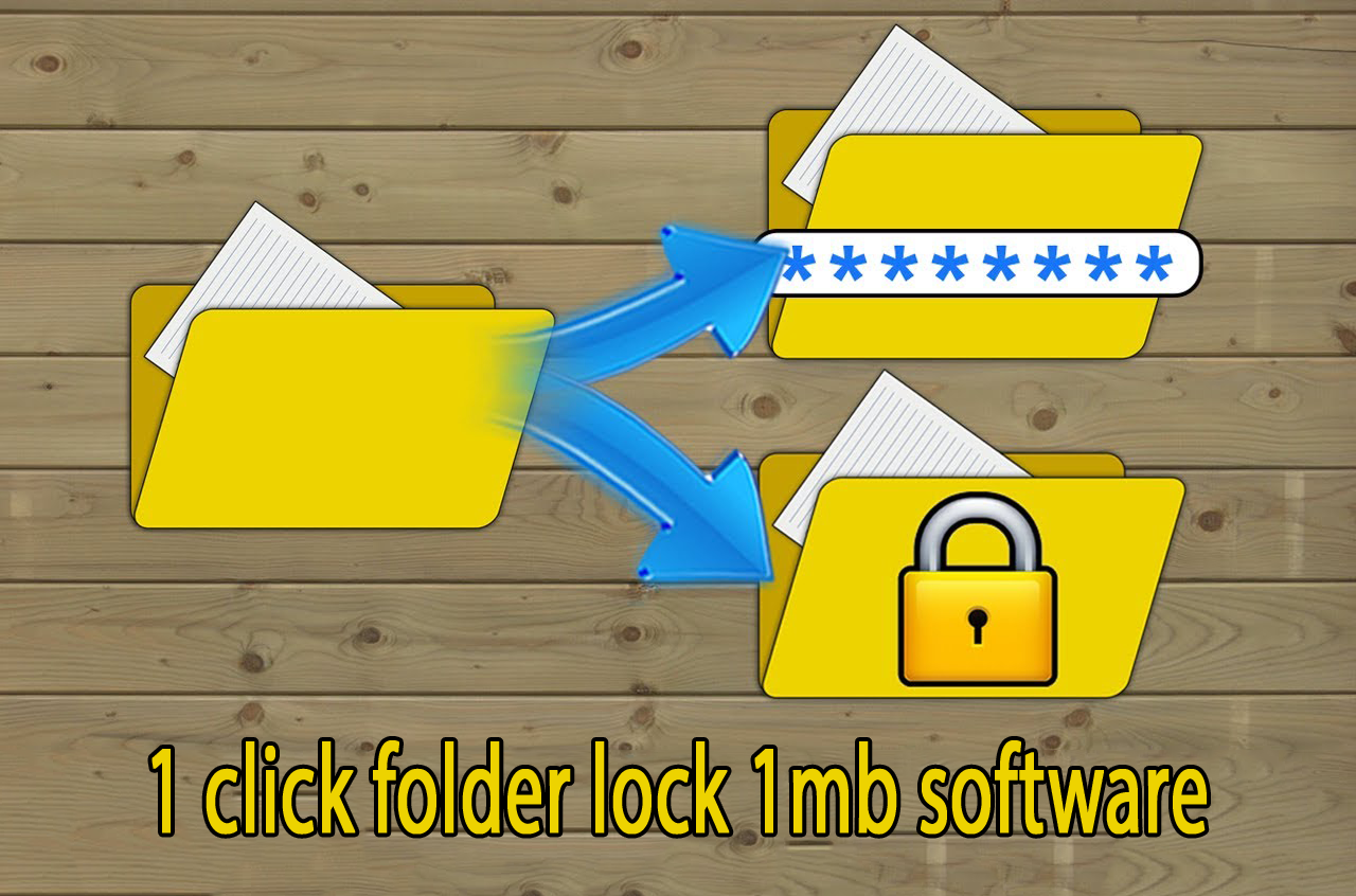 how to lock pc folder | Trickdunia.com