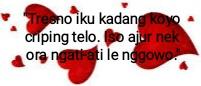 ucapan valentine bahasa Jawa