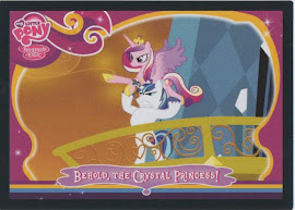 My Little Pony Behold, the Crystal Princess! Series 2 Trading Card