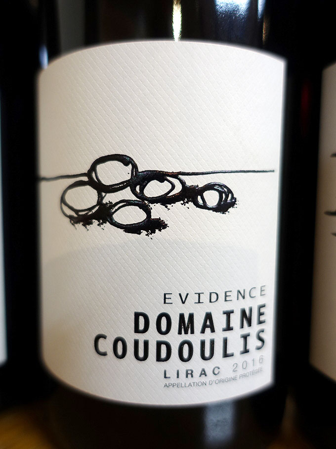 Domaine Coudoulis Evidence Lirac 2016 (89 pts)