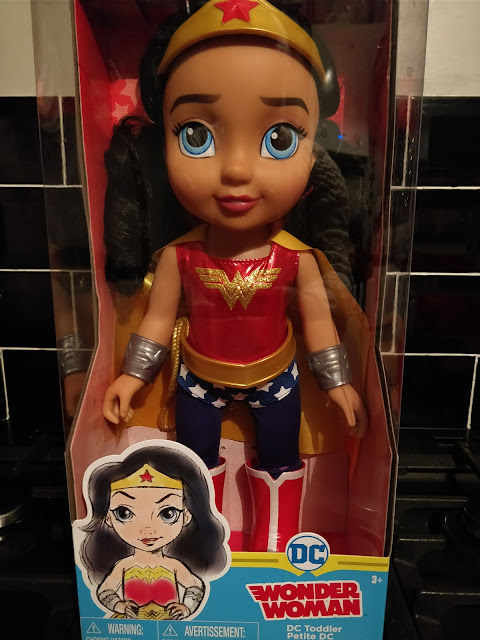 DC SuperHeroGirls Toddler Dolls Wonder Woman