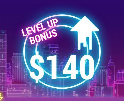 FBS $140 Forex No Deposit Bonus - Level Up Bonus