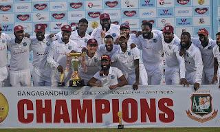 West Indies tour of Bangladesh 2-Match Test Series 2021