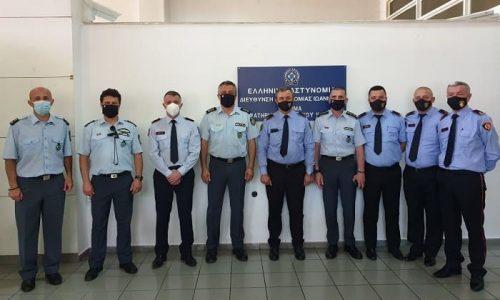 Επίσημες συναντήσεις εργασίας πραγματοποιήθηκαν σε Γιάννενα και Κορυτσά, μεταξύ των Γενικών Περιφερειακών Αστυνομικών Διευθυντών Ηπείρου και Δυτικής Μακεδονίας, με ομόλογους υπηρεσιακούς παράγοντες της Αλβανικής Αστυνομίας.