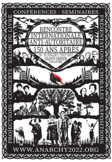International Anti-Authoritarian Gathering & Bookfair Switzerland 2022
