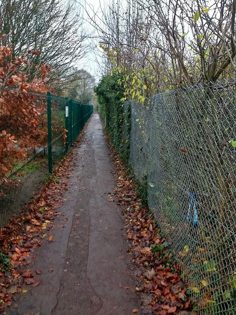 Passage, Cherry Hinton, Railway Line, Pschogeography, Cambridge