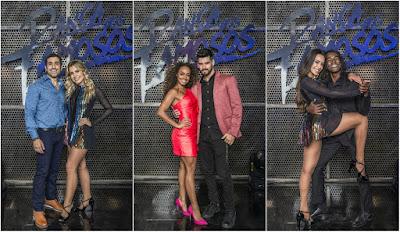 Kaysar Dadour, Dandara Mariana e Jonathan Azevedo estão na grande final do 'Dança dos Famosos 2019'