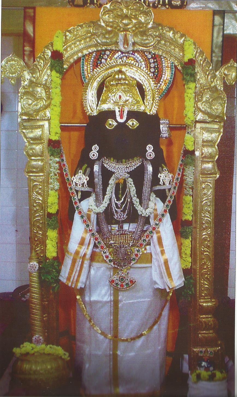 Sri Baktha VaraPrasada Anjaneyar Swamy, Salem: Lord