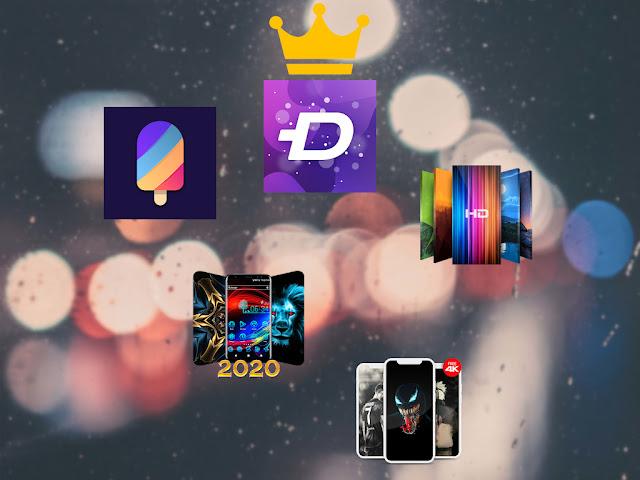 Las cinco mejores apps de fondos de pantalla Android gratis 2020