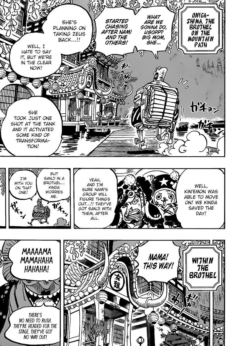 One Piece Manga Chapter 983 - Image 003