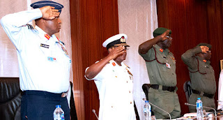 2000 Protesters Have Been Hired To Protest Against Service Chiefs On Monday..Presidency