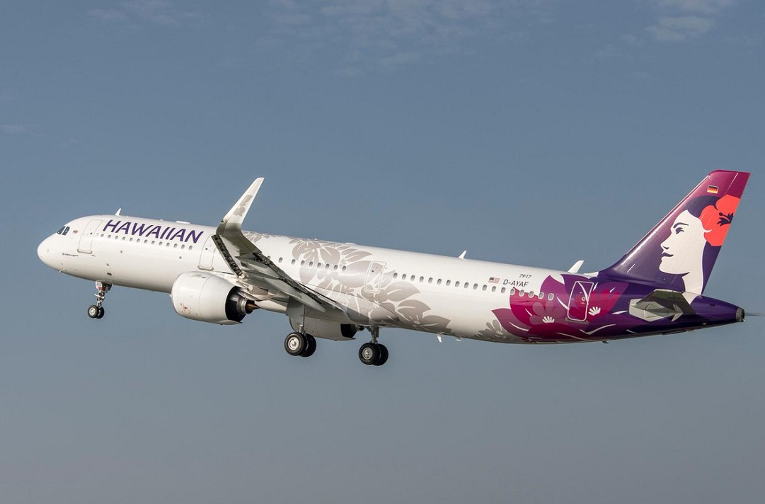 Hawaiian Airlines Airbus A321neo November 2019 Delivery