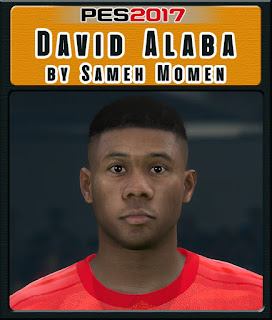 PES 2017 Faces David Alaba by Sameh Momen