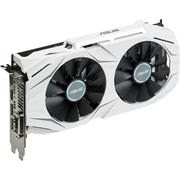 Asus DUAL-GTX1060-O6G GeForce GTX 1060 Graphic Card -1.59 GHz Core - 1.81 GHz Boost Clock - 6 GB GDDR5 - PCI Express 3.0 - Dual SlotSpace Required - 192 bit Bus Width - Fan Cooler - OpenGL 4.5, DirectX 12 - 2 xDisplayPort - 2 x HDMI - 1 x Total Number of DVI (1 x DVI-D) - PC