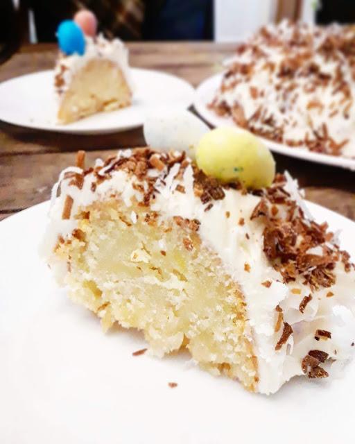 Toasted Coconut Cake