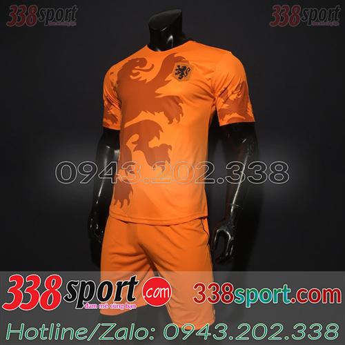 Áo Đội Tuyển Hà Lan Cam 2020 Training 5 Màu Cam