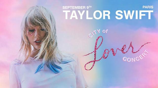 City of Lover Concert de Taylor Swift à l'Olympia de Paris