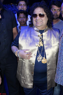 Gracy Singh and Bappi Lahiri   Blue Mountain Music Launch IMG 0637.JPG