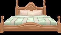 Символ Уттара Пхалгуни (кровать)