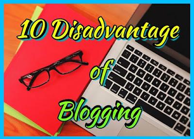 ब्लॉगिंग करने के नुकसान, ब्लॉगिंग के दुष्प्रभाव, blogging side effects