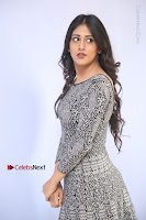 Actress Chandini Chowdary Pos in Short Dress at Howrah Bridge Movie Press Meet  0063.JPG
