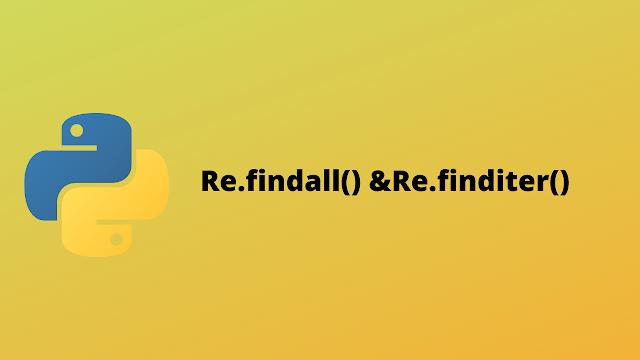 HackerRank Re.findall() & Re.finditer() solution in python
