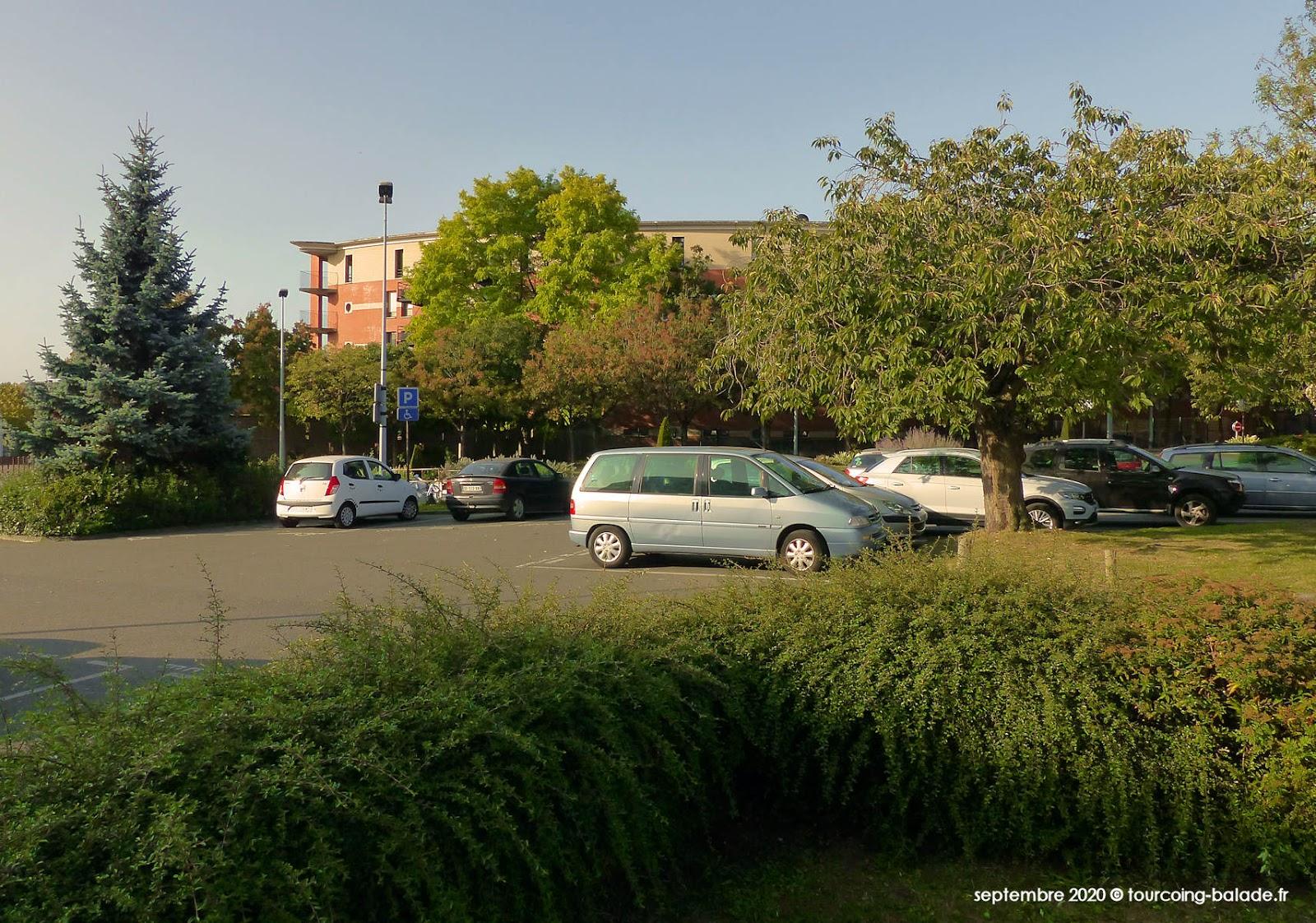 Place Sébastopol végétalisée, Tourcoing 2020