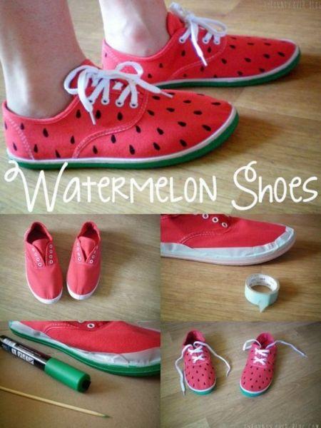 ayakkabı yenileme fikirleri