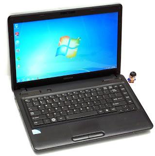 Laptop Toshiba Satellite C640 Pentium Second