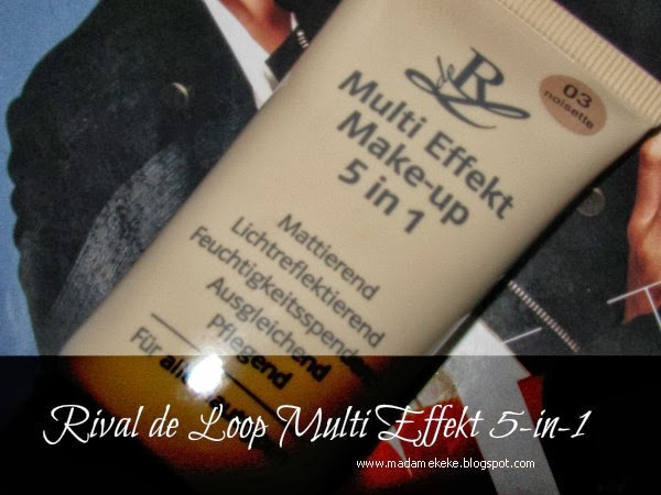 Rival de Loop Multi Effekt Make-up 5 in 1 - Review Produkttest
