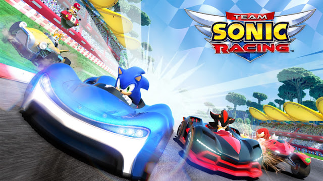 """Team Sonic Racing"" Game đua xe Sonic 3D 2018"