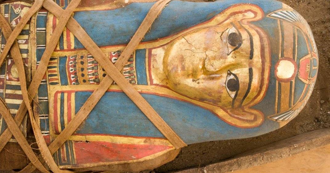 Graeco-Roman mummy discovered in Egypt's Fayoum