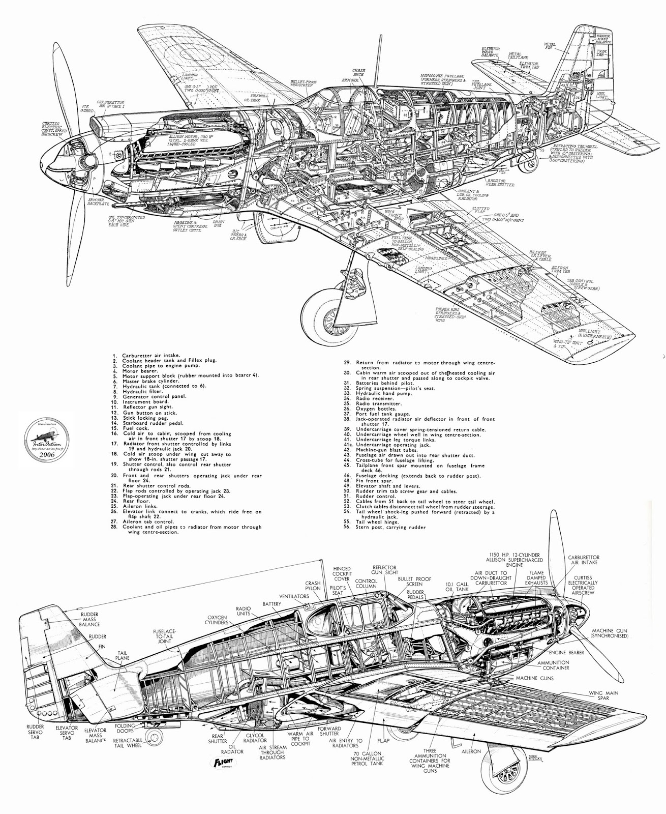 Oldsarges Aircraft Model Blog P 51 Mustang Info