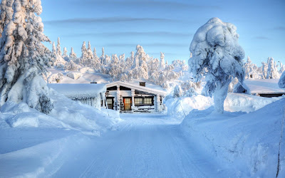 Winter snow background images