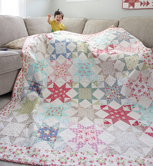 La Conner Stars Quilt Free Pattern