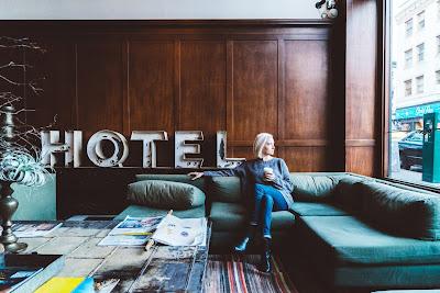 Hall de un hotel