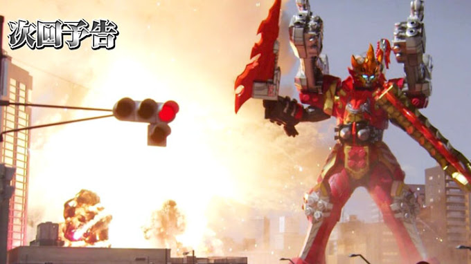 Spoiler Kishiryu Sentai Ryusoulger Episode 12, Debut Kishiryu-Oh Dimevolcano
