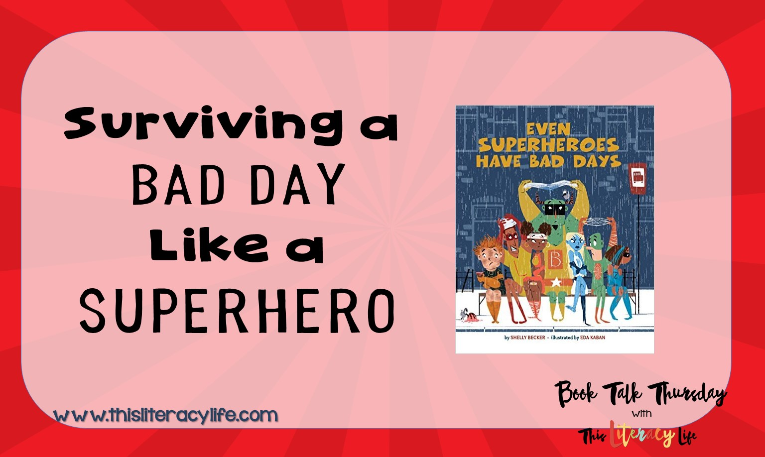It's tough having a bad day, and even superheroes have them.  How do they cope with a bad day?