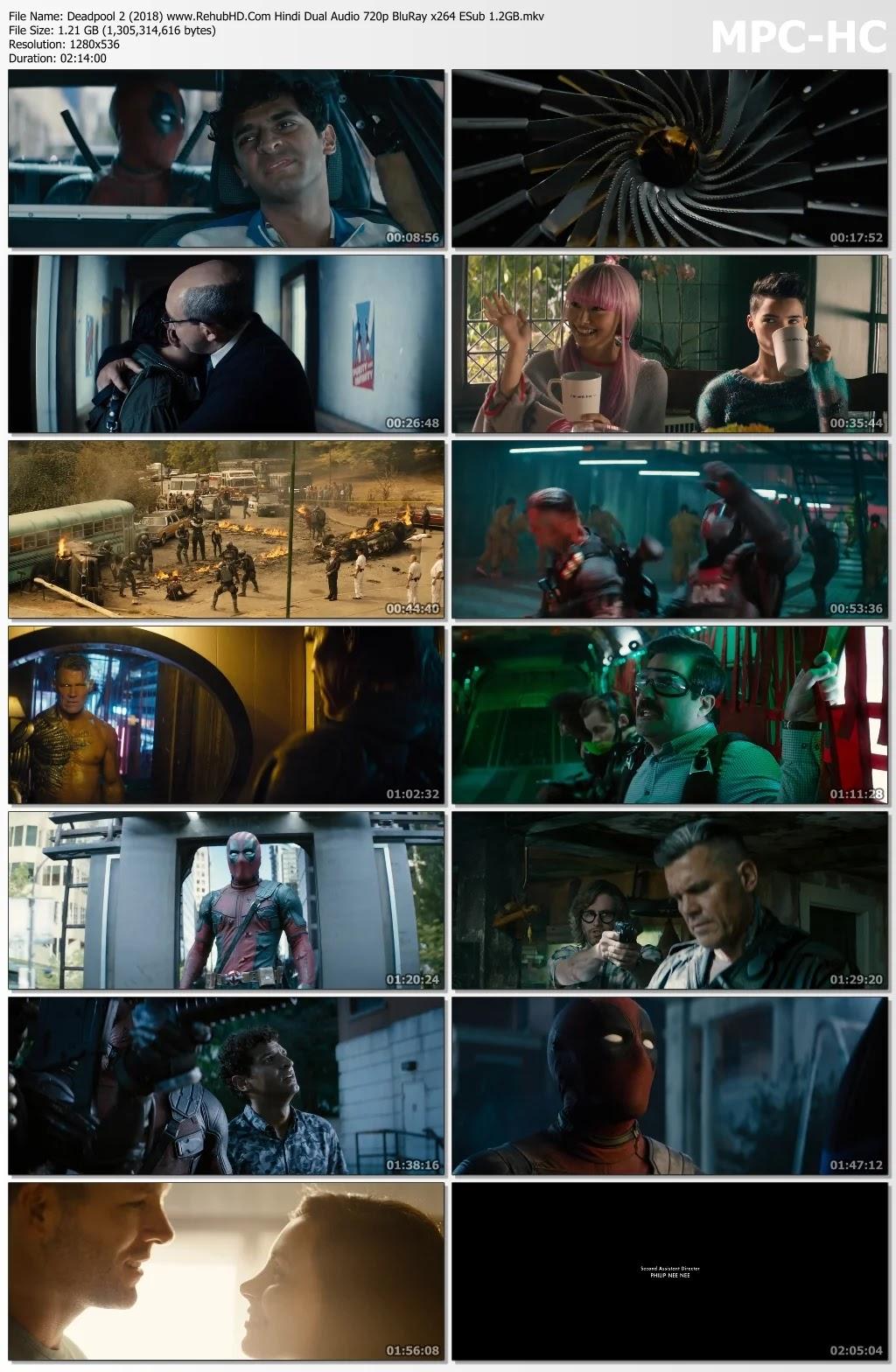 Deadpool 2 2018 Movie Free Download Full HD Dual Audio
