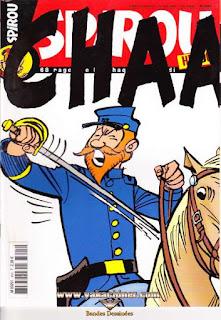 Spirou Hebdo, numéro 3605, année 2007