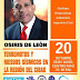 Geólogo Osiris de León impartirá conferencia en Mao