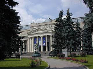 El Museo Pushkin de Moscú